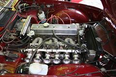 TRIUMPH TR6 (shagracer) Tags: car engine bay motor queen square bristol classic meet adc breakfast club avenue drivers