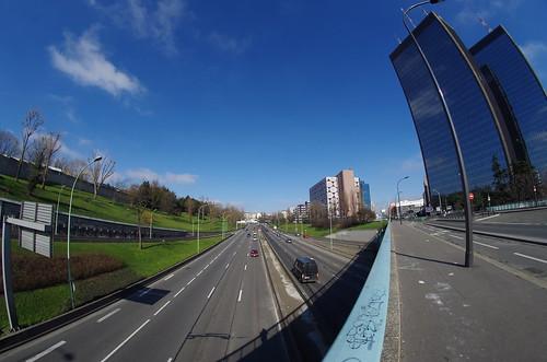 Boulevard Périphérique et Mercuriales (Paris - Bagnolet)