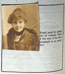 Winifred Holt 1919 (puzzlemaster) Tags: lighthouse education blind activist sculptor passportphoto socialwork reformer lighthousecenterfortheblind