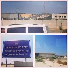 Erez Checkpoint, Entrance to the Gaza Strip (photo - Bo Outland) (Interfaith Peace-Builders) Tags: israel peace palestine gazastrip erez apartheid americanfriendsservicecommittee interfaithpeacebuilders
