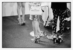 high heels meeting point (look-book) Tags: bw white black berlin film look fashion analog mercedes book blackwhite und high nikon foto f14 trix 85mm d76 fotos heels week analogue catwalk lookbook selfdeveloped f6 analogous analogicas análogo blackandwhitesw