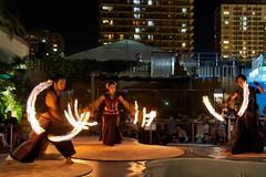 IMG_4998_Snapseed (rome_rome) Tags: japan night fire dance performance fireperformance firebandit