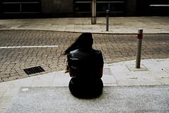 (Matt Obrey) Tags: street woman colour film bench hair birmingham voigtlander bessa streetphotography r4m birminghamstreet