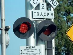 Metro grade crossing (Traffic signal Guy 14) Tags: crossing grade pasadena metrotrain