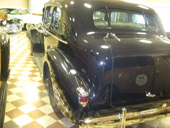 40's Cadillac (goldiesguy) Tags: auto old classic cars car automobile antique cadillac museumcars classicrearendscars