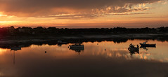 Boats at sunset (GillWilson) Tags: