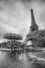 Tour Eiffel (ollietat) Tags: bw white black paris tower eiffel