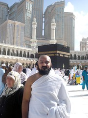 Me near Baitullah Sharif (Ibn Rizvi) Tags: sharif madina makkah umra rizvi athar baitullah
