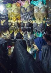 Clothes Bazaar, Kermanshah, Iran (Eric Lafforgue) Tags: people colour vertical retail scarf photography store asia adult iran middleeast illuminated business indoors textile souk hanging iranian choice bazaar multicolored groupofpeople abundance kermanshah variation bazar adultsonly kurdish baazar traveldestinations colorimage   islamicrepublicofiran  iro  dsc00360 unrecognizableperson westernasia