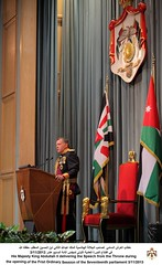 (Royal Hashemite Court) Tags: november amman parliament jordan lm speech throne hashemite rhc 2013 kingabdullahii