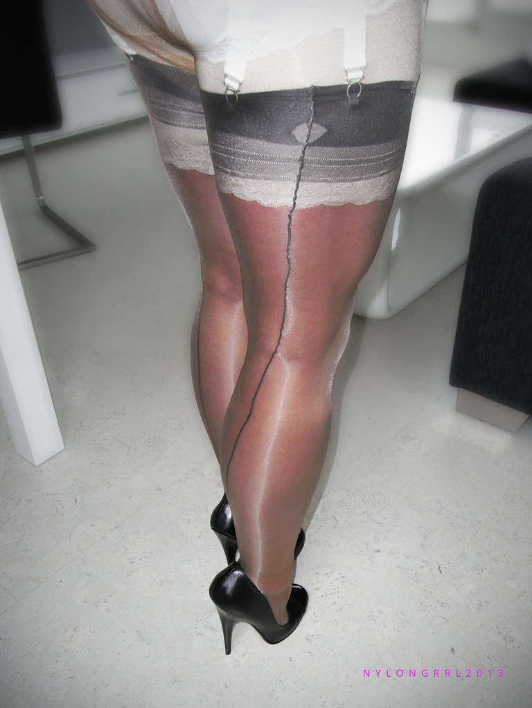 black ass stockings