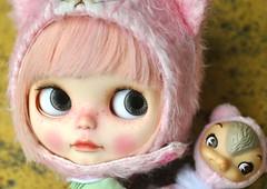 Pink Strawberry Muffin & Kuma Bear