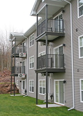 All balcony options are dry-below, meaning no water, dirt, or debris will fall to the balcony below.