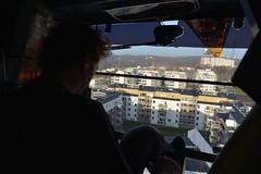 construction crane (pro.henrik) Tags: explore kran humans kor fotosondag fotosöndag fs131215