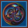 Not ordinary circle in frame (Ana Puzar) Tags: abstract art ball circle gimp mathmap