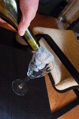 Vintage Old Sock (LeftCoastKenny) Tags: glass bottle hand grain utata oldsock ironphotographer utata:project=ip187