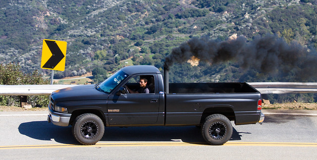 black truck diesel smoke pickup turbo dodge hd mopar cummins 2500 heavyduty