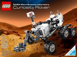 LEGO 21104 【好奇號】NASA 美國太空總署 CUUSOO 創意量產