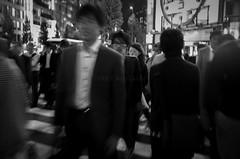 Street Scene - Shinjuku (azri zainul) Tags: nightphotography blackandwhite bw monochrome japan japanese mono tokyo shinjuku streetphotography documentary fujifilm grayscale bnw zebracrossing fixedlens x100 streetshooting documentaryphotography primelens streetshoot fujifilmx100 azrizainul wwwfacebookcomazrizainulphotos