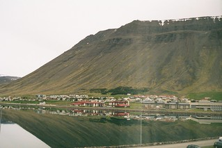 Isafjordur from our hotel window, Iceland