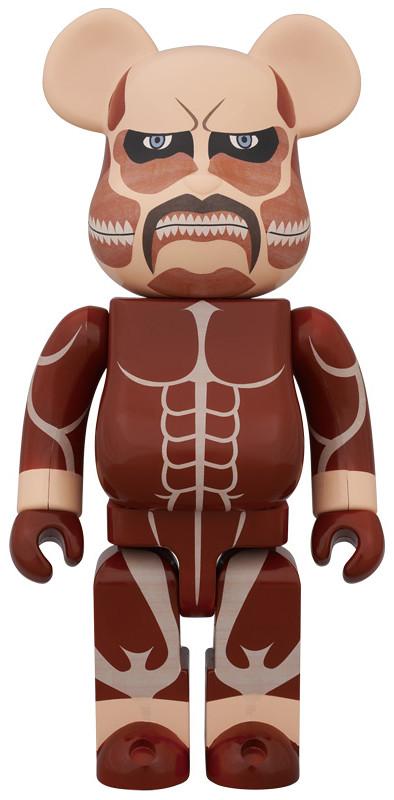 《進擊的巨人》400% 超大型巨人 BE@RBRICK