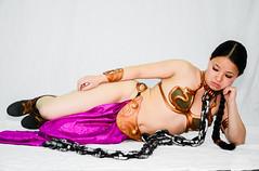 DSC_0186 (Studio5Graphics) Tags: hot sexy girl fun star starwars chains cool model nikon cosplay modeling wars cosplayer collar leia slave collared 2014