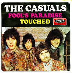 Casuals, The - 4 - Fool's Paradise - D - 1969 (Affendaddy) Tags: 1969 germany touched foolsparadise thecasuals vinylsingles collectionklaushiltscher deutschevogue 1960sfolkbeat dv17876