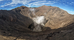 The bowels of the earth (Fil.ippo (AWAY)) Tags: travel mountain indonesia volcano java nikon earth smoke mount photomerge gunung viaggi filippo bromo vulcano fumo bowels d5000 filippobianchi