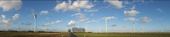 Panorama landscape (Jos Mecklenfeld) Tags: cameraphone panorama germany landscape deutschland sony cellphone windmills v mobilephone landschaft duitsland landschap emsland haren niedersachsen windmolens xperia rtenmoor flickrandroidapp:filter=none sonyxperiav