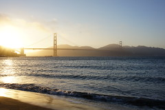 Beachy Golden Gate