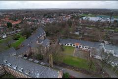 Uitzicht op kruishoogte - richting Alkmaar
