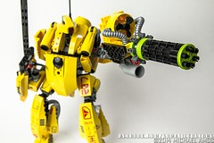 LEGO: GunMech (somatic-studios) Tags: toys design lego create mecha mech moc
