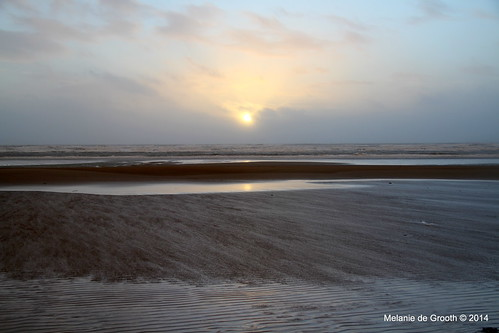 Sunset over Harlech Beach 3