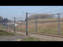 Belgian High Speed - Thalys PBKA on it's way to Paris. (Franky De Witte - Ferroequinologist) Tags: de eisenbahn railway estrada chemin fer spoorwegen ferrocarril ferro ferrovia