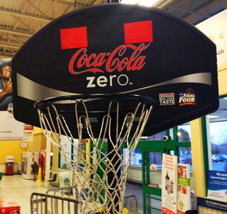 Coca Cola NCAA Cases Display Final Four Coca C...