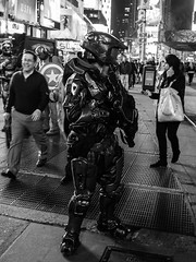 Master Chief (C@mera M@n) Tags: nyc newyorkcity ny newyork candid places timessquare candidstreet