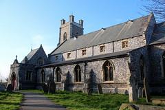Pictures of Kirkley Church, St Peter & St John (Richie Wisbey) Tags: church saint st john suffolk peter richard locked lowestoft kirkley flinty wisbey