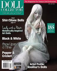 """Doll Collector"",2014 (Shirrstone Shelter dolls) Tags: world magazine site doll artist dolls ooak n article bjd artdoll shelter press shirrstone"