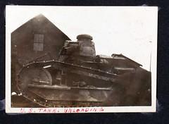 AL-44 1st Aero sq Album Image_000189 (San Diego Air & Space Museum Archives) Tags: firstaerosquadron worldwarone france armouredwarfare armoredwarfare tank renault renaulttank renaultft renaultft17 ft17