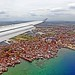 Philippines, Davao, aerial view during landing approach  #PhiΙippines