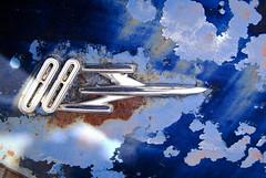 Dad's 88 (hutchphotography2020) Tags: logo rust surface oldsmobile peeledpaint rockett88 httphutchphotography2020wordpresscom