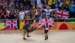 Go Trotty Go (Richard Parmiter) Tags: lauratrott womensomnium rio2016 velodrome goldmedal olympics teamgb