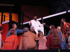 """Jesus Christ Superstar""  at The Aloha Theater (BarryFackler) Tags: jesuschristsuperstar alohatheater alohaperformingartscompany apac musicaltheater stage actors singers arts musical kainaliu miguelmontez jesuschrist people stagecraft theater talent apostles set props indoor hawaii hawaiiisland 2017 hawaiicounty northkona polynesia kona life island barryfackler barronfackler"