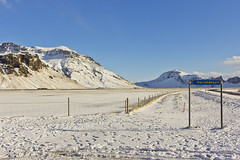 The Eyjafjallajökull farm (colinemcbride) Tags: iceland ísland winter north northern icelandic moonwalker tours snow south coast tour eyjafjallajökull volcano farm
