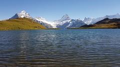 Bachalpsee (JohannesMayr) Tags: switzerland bachalpsee see wasser lake water blue sky blauer himmel grindelwald first kanton bern berner oberland