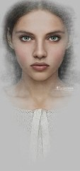 "Madamnesia_illustrator ""Juliet"" (Madamnesia_illustrator) Tags: madamnesia illustrazione painting shakespeare juliet giulietta portfolio portrait arte artedigitale"