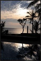 Myanmar (Burma) (Wioletta Ciolkiewicz) Tags: myanmar burma asia photoborder wiolettaciolkiewicz sunset sky indianocean ocean tropical beach bayofbengal ngwesaung aureumpalacehotelresort water outdoor