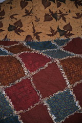Rag quilt (shireye) Tags: imadethis ragquilt quilt