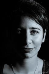Silvia (DanAie) Tags: portrait photography pentax italia girl beautiful monocromo monochrome
