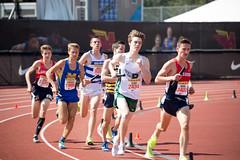 Kent passing in the 1600m leg (Malcolm Slaney) Tags: 2017 arcadiainvitational dmr distancemedleyrelay paloalto paly tf trackandfield